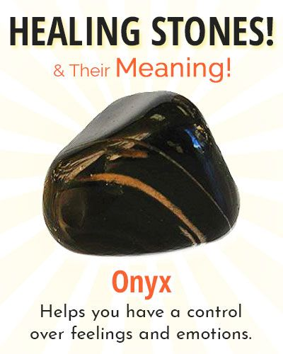 Onyx Healing Stone Healing Stones Crystal Healing Stones Crystals
