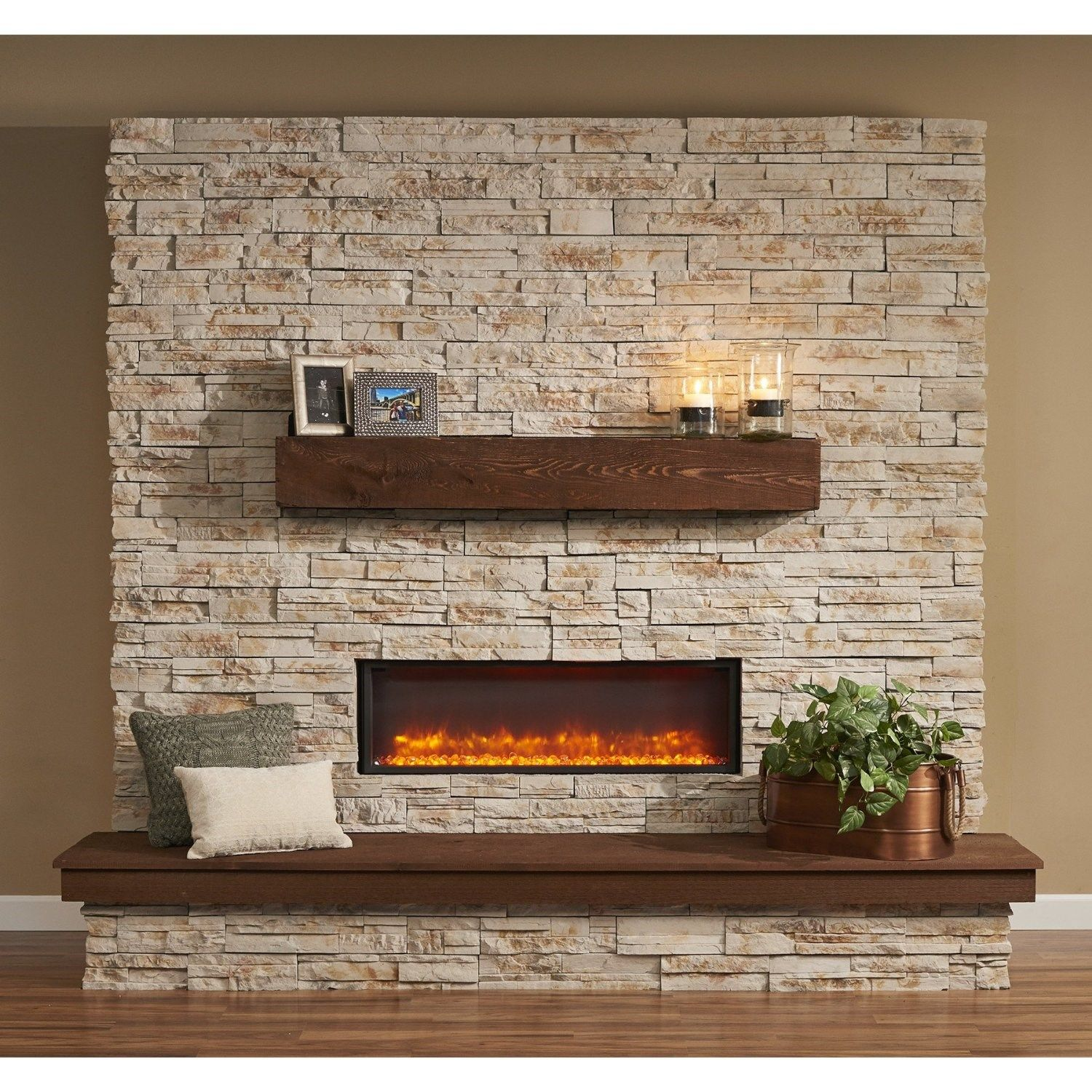 Outdoor Greatroom Gbl 44 44 Built In Linear Electric Fireplace