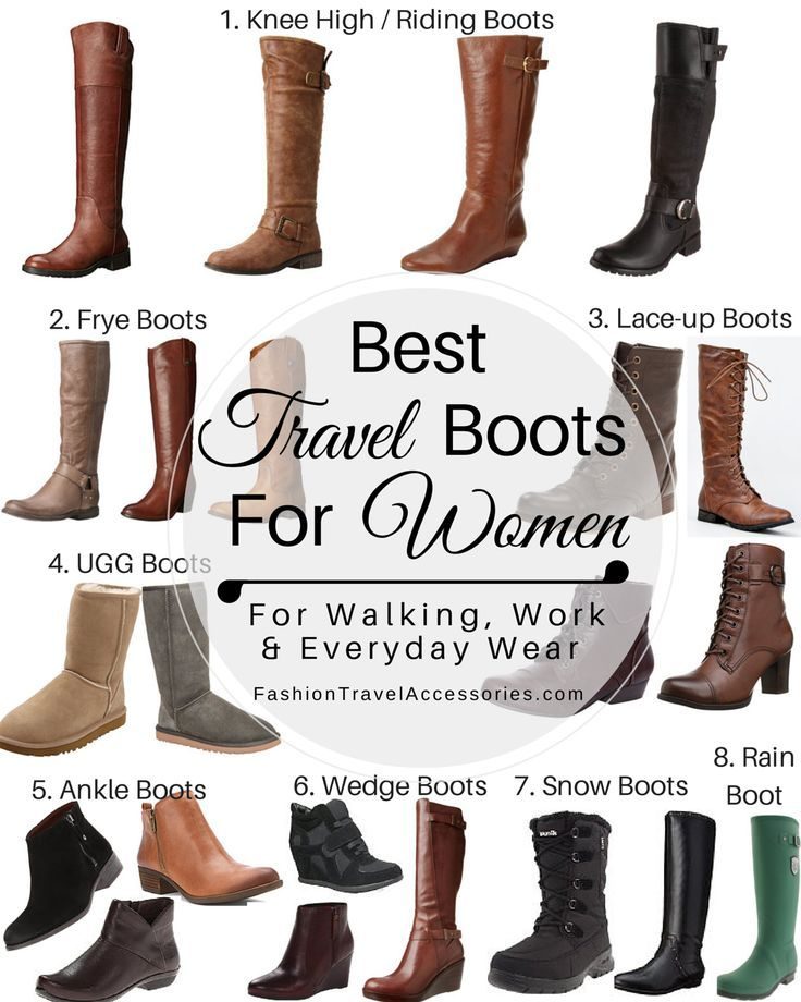 Best Travel Boots for Women to Wear this Fall, Winter & Spring ...