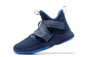 9e63d6123c9 Mens Nike LeBron Soldier 12 Agimat Dropping AO4054-500 Basketball Shoes