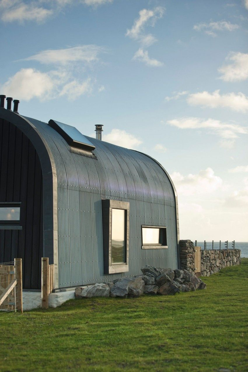 House Number 7 By Denizen Works Quonset Homes House Roof Architecture
