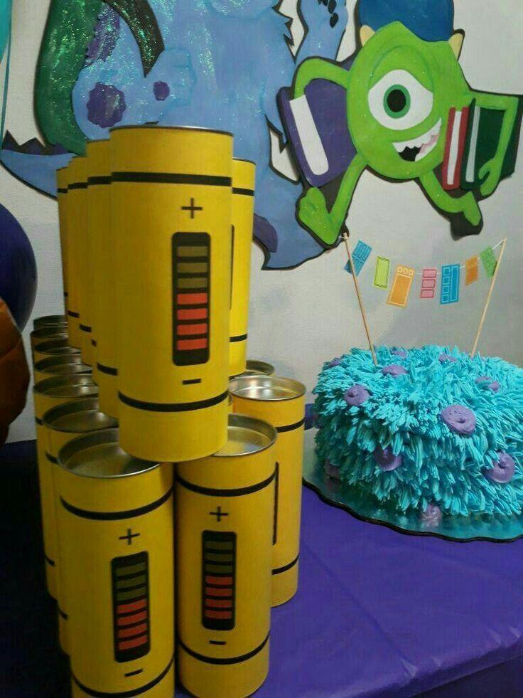 Centerpieces monster 1st birthdays monster birthday