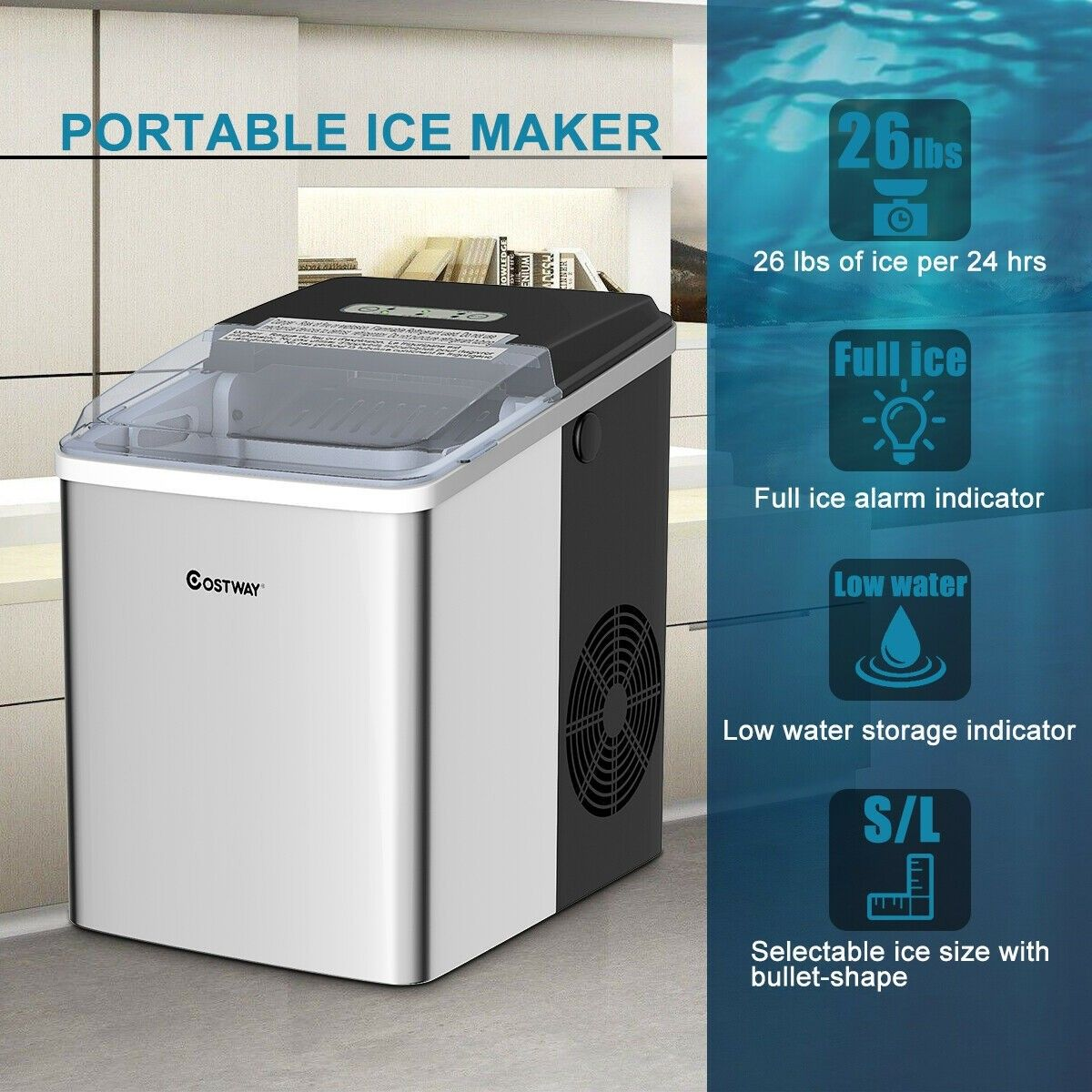 pellet ice maker for home