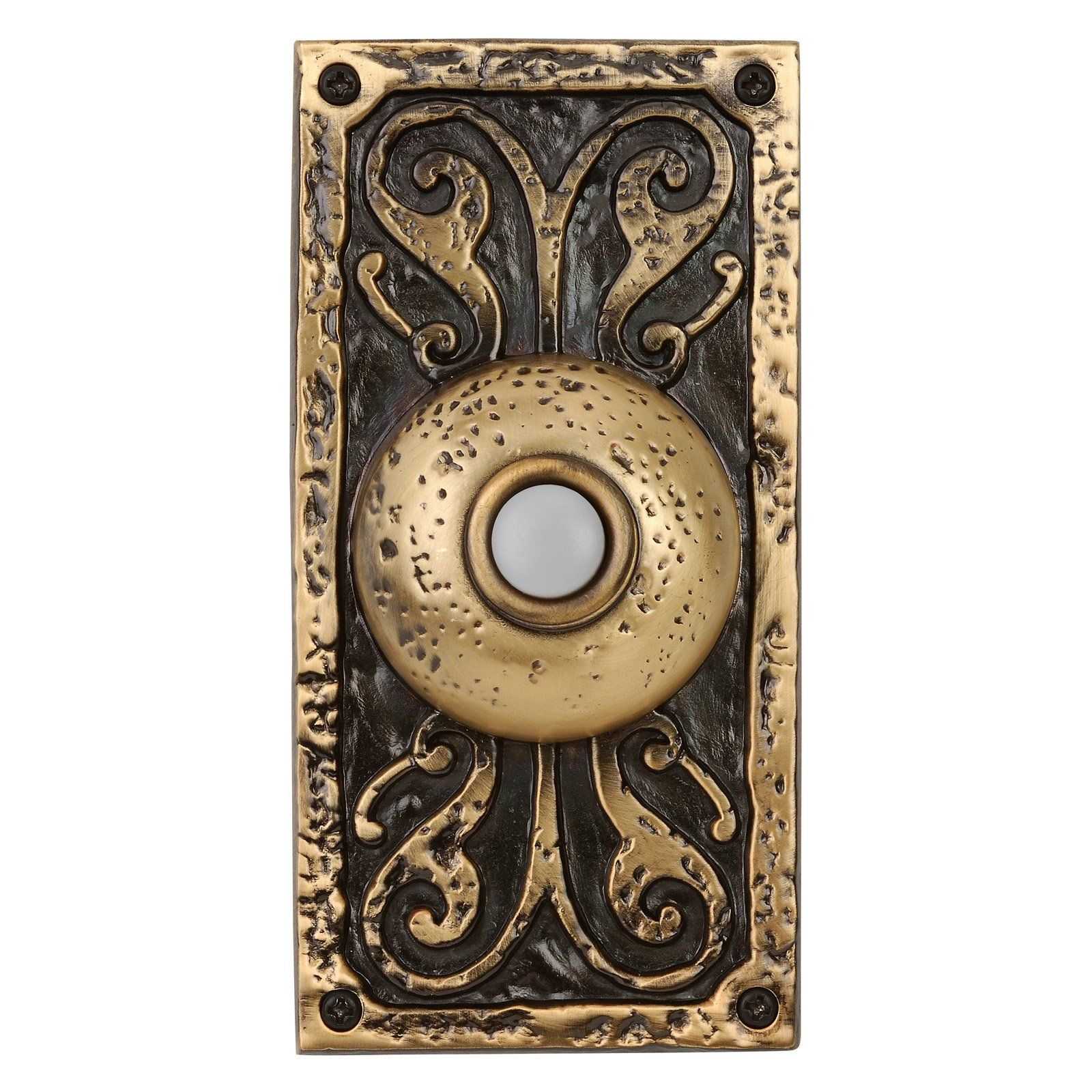 Love this door bell in either weathered black or pewter. Craftmade Large Designer Surface Mount  sc 1 st  Pinterest & Love this door bell in either weathered black or pewter. Craftmade ...