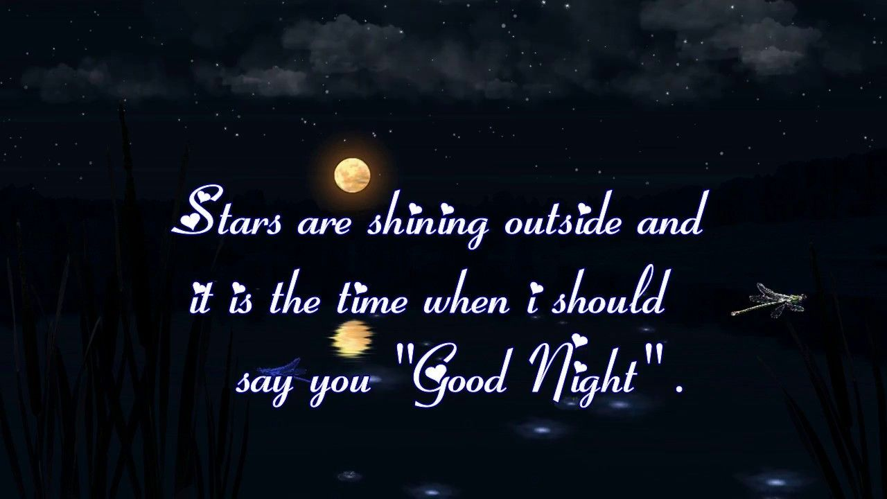Sweet Cute Good Night Romentic Quotes And Sms Message For Himher
