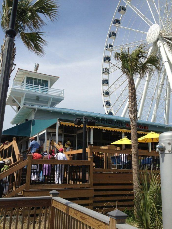 Landshark Bar Grill 1110 N Ocean Blvd Myrtle Beach Sc