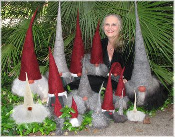 Make a tomte Christmas gnome | Marianneenjoying the company of our ...