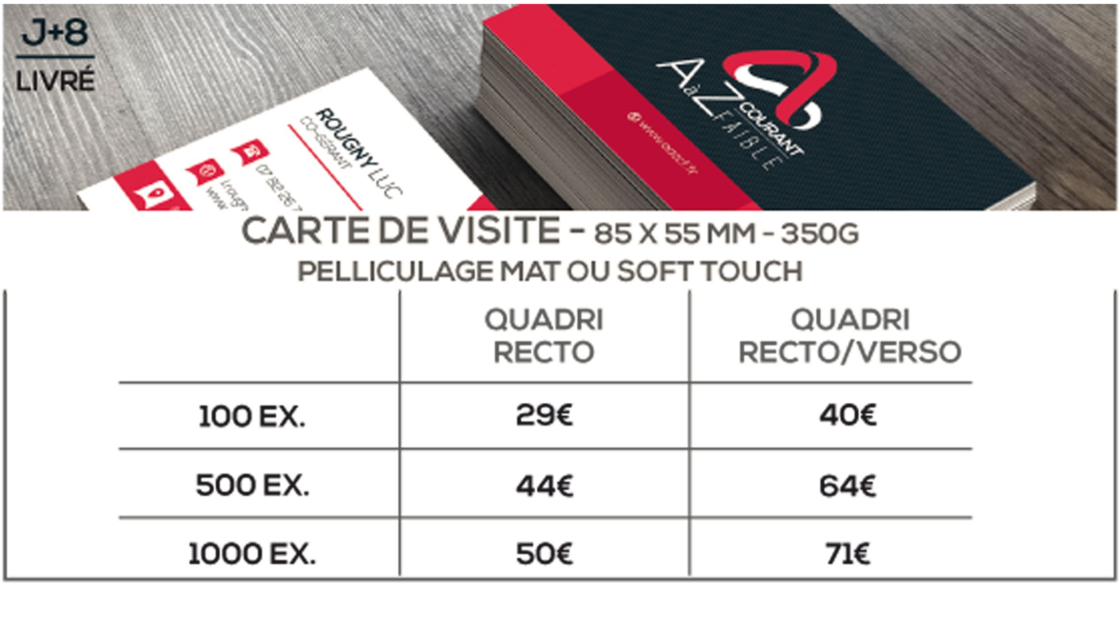 Prix Cartes De Visite Etapes Print