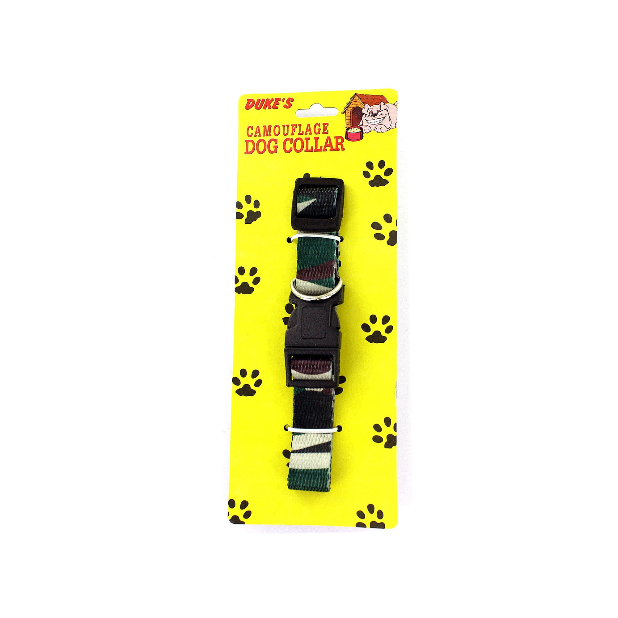 Adjustable camouflage dog collar wholesale cheap discount