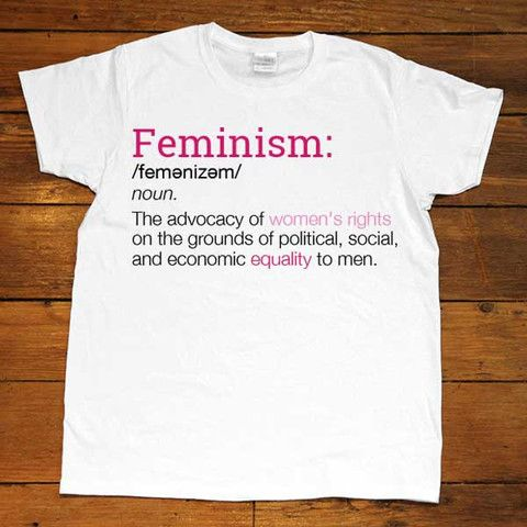 145237a2933ade Definition of Feminism -- Women's T-Shirt/Tanktop – Feminist Apparel