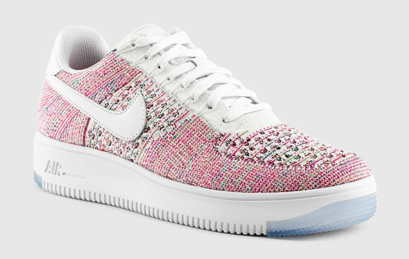 Flyknit Multicolor WomensWomen's Sneakers Nike 1 Low Force Air 9IED2H
