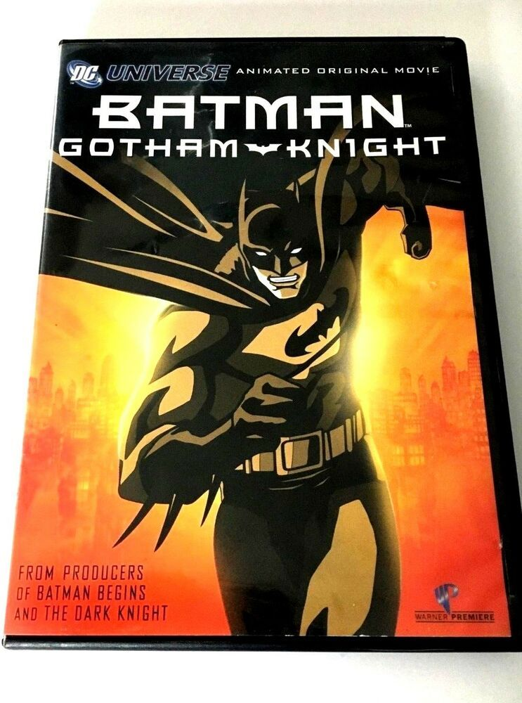 Batman Gotham Knight Animated Dvd Dc Universe Free Shipping