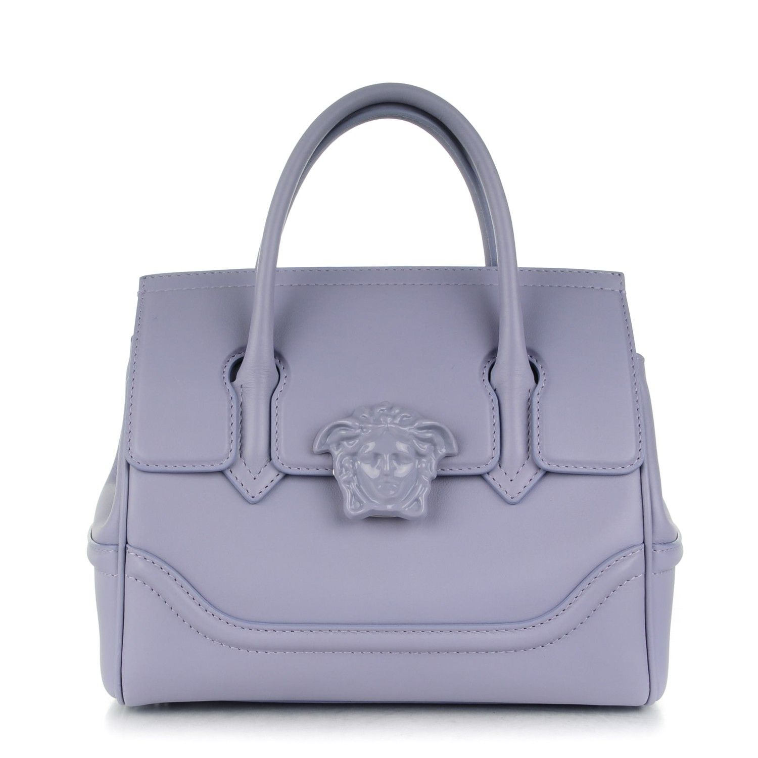76f09c330a This is an authentic VERSACE Calfskin Medium Palazzo Empire Bag. This  stylish bag is crafted