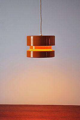 Mid Century Modern Danish Pendant Ceiling Lamp Lightolier Fog Morup | eBay $275 for two