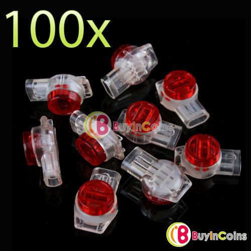 100 X Securely UR2 3-Wire Insulation Displacement Contact IDC Connectors HJKT3 - 4.8$