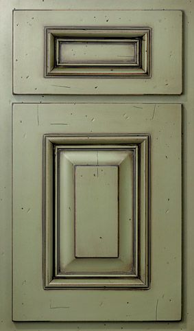 Kitchen Cabinets Painted With AS Chalk Paint And Sealed With AS - Lacquer kitchen cabinets
