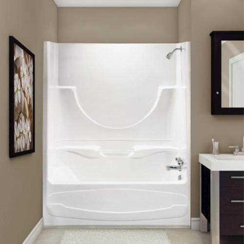 Figaro Ii Tub Shower Afr At Menards With Images Shower Bath Tub Shower Combo Shower Tub