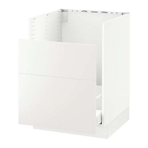 Best Haggeby White 137Sektion Base Cabinet F Domsjö Sink 400 x 300