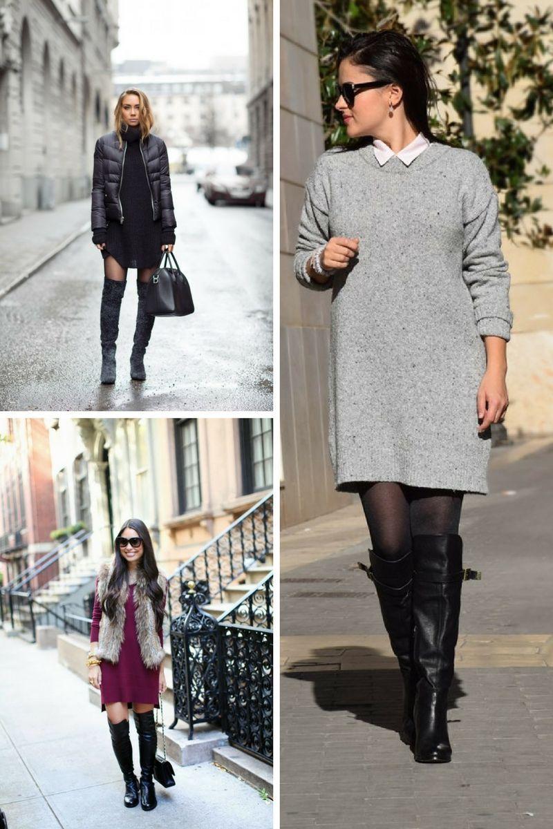 Sweater Dress Trend