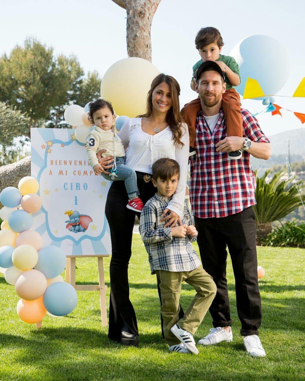 Ciro Messi Roccuzzo : messi, roccuzzo, Birthday, Celebration, Lionel, Messi, Family,, Messi,, Barcelona