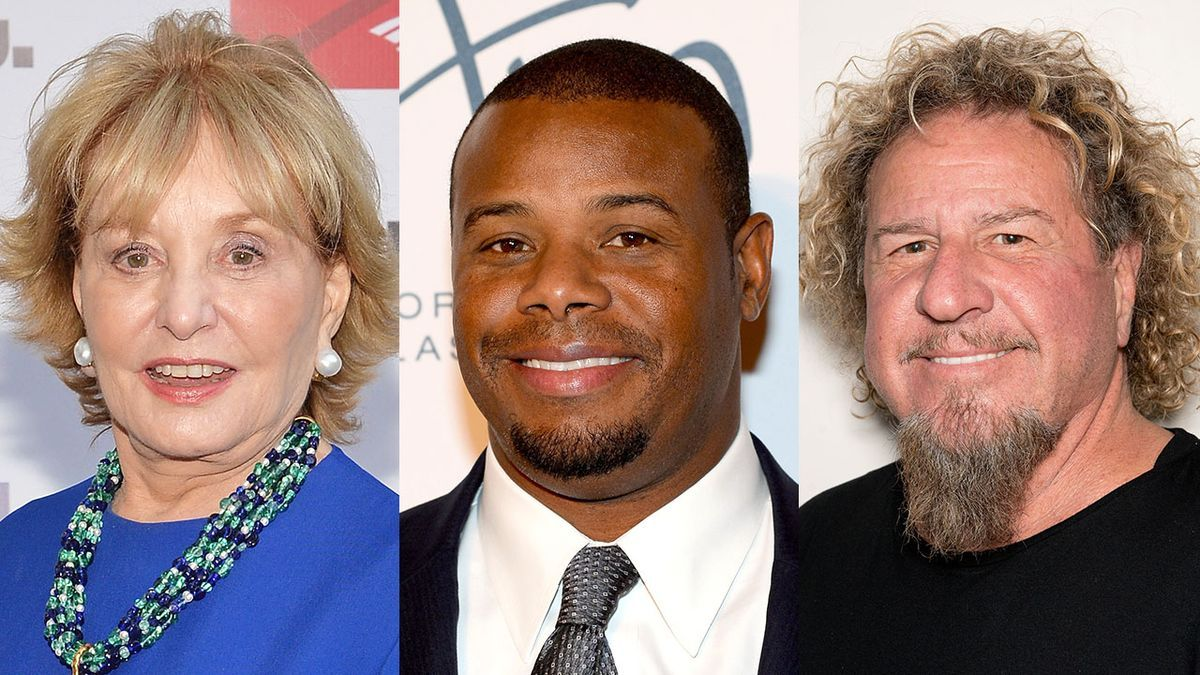 Find Out What Barbara Walters Ken Griffey Jr And Sammy Hagar Have To Say Barbara Walters Ken Griffey Jr Ken Griffey