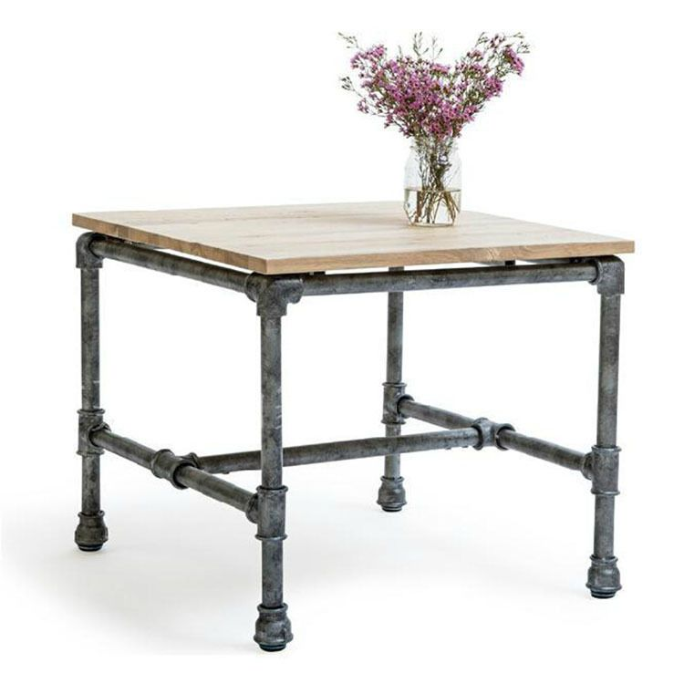 american country wrought iron vintage desk. American-country-vintage-wrought-iron-water-pipe-several-wood-living-room- Table-side-Zhuojiao-several-creative-custom-coffee-table.jpg American Country Wrought Iron Vintage Desk