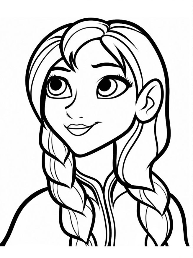 coloring pages for girls frozen | free kids frozen coloring ...