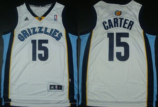 competitive price 7f942 f8308 Memphis Grizzlies #15 Vince Carter Revolution 30 Swingman ...
