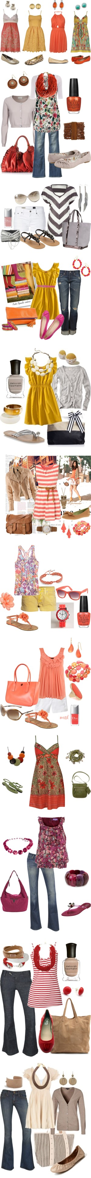 """Spring/Summer"" by brandi-west on Polyvore"