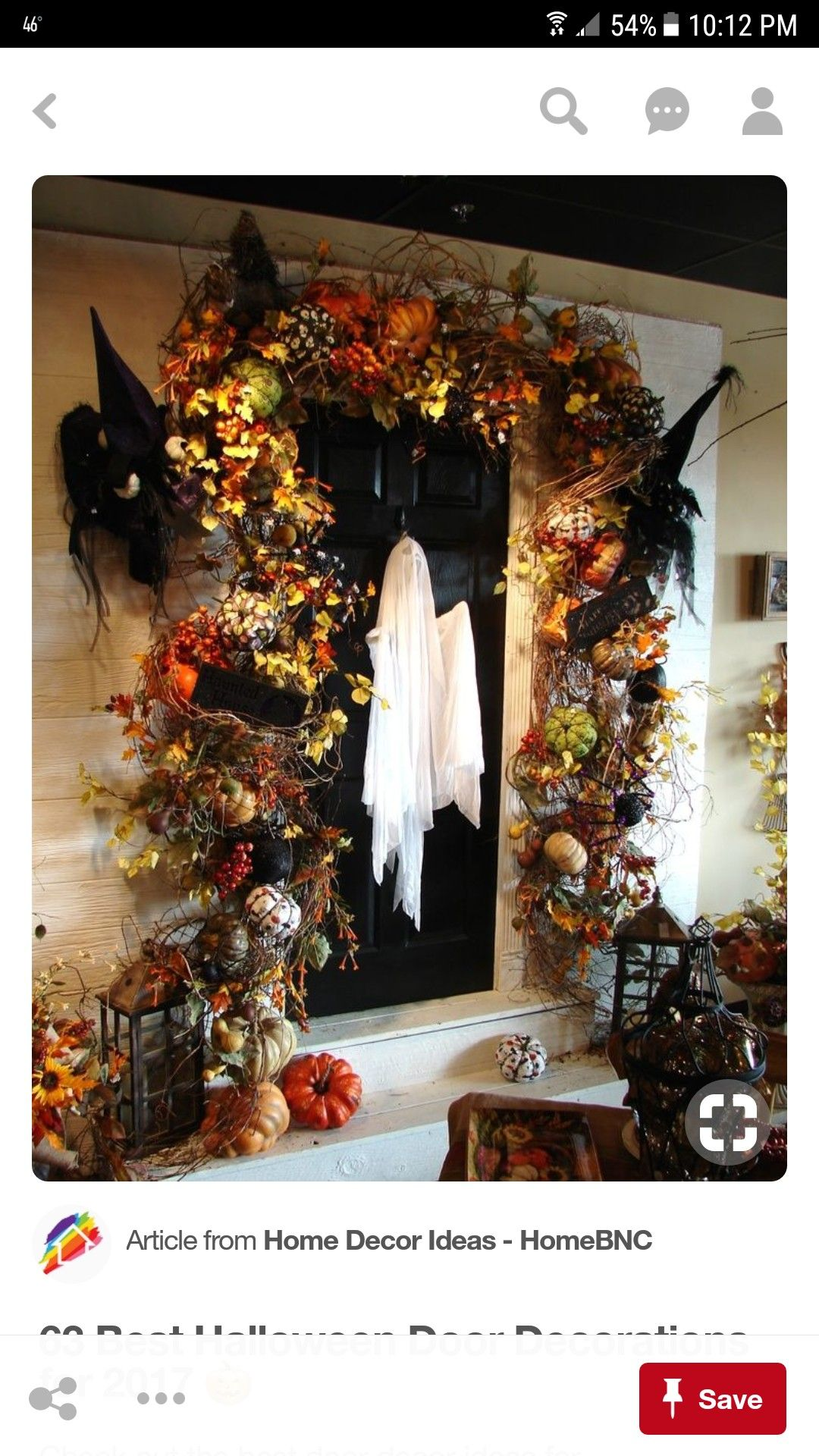 Check out the best door decor ideas for Halloween You can create these DIY  decorations for with your family very cheaply.
