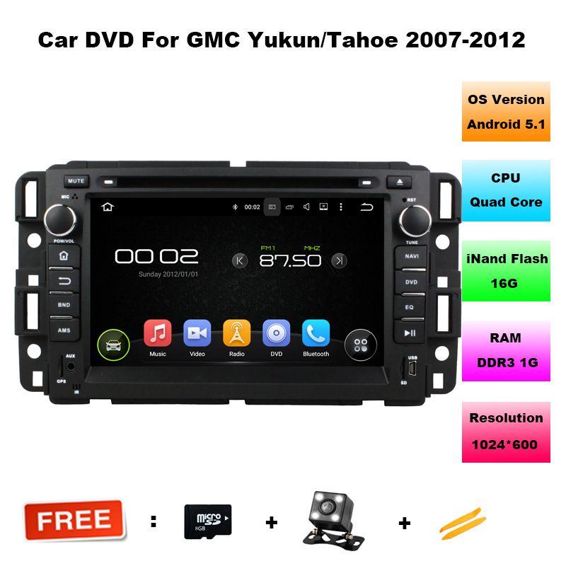 7 Quad Core Android 5 11 Os Auto Radio Car Dvd For Gmc Acadia