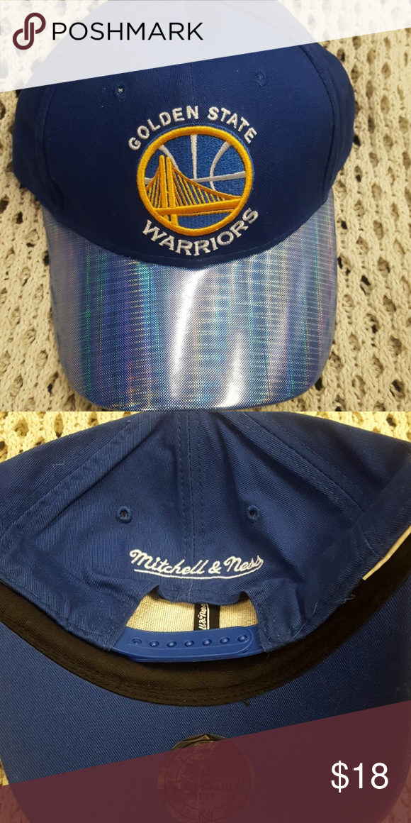 216380ec New Mitchell & Ness adjustable warrior cap New Mitchell and ness adjustable  golden State warriors cap Mitchell & Ness Accessories Hats