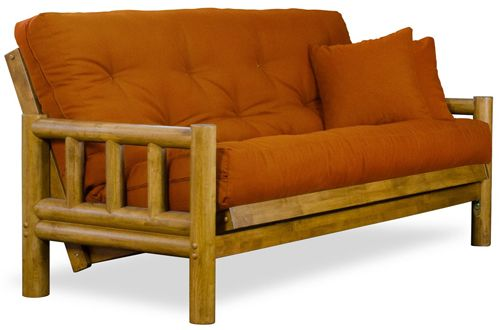 Terrific Rustic Tahoe Log Full Size Wood Futon Frame Top 10 Best Alphanode Cool Chair Designs And Ideas Alphanodeonline
