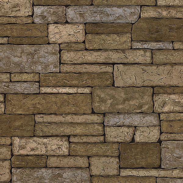 Brewster Bristol Brick Texture Wallpaper