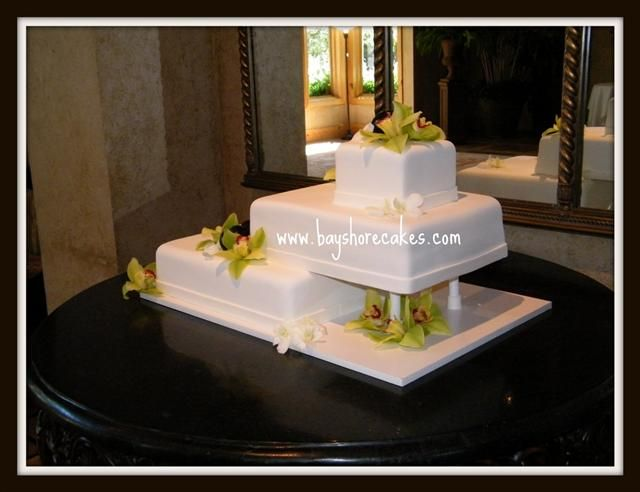 Wedding Cakes. LOve this lay out!