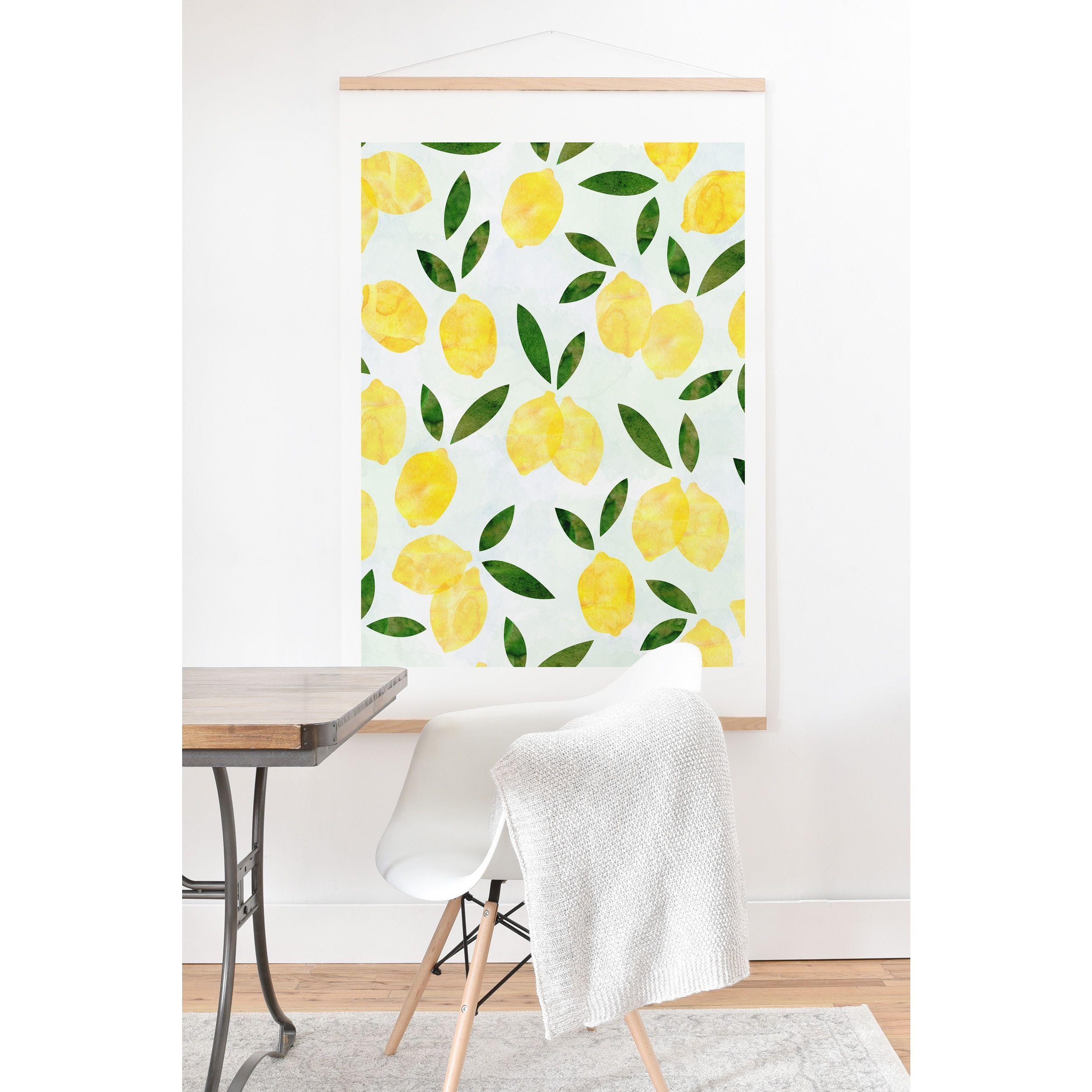 Hello Sayang Lemon Drops Hanging Wall Art Print