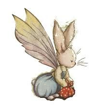 Pookie Rabbit With Wings Google Search Vintage Illustration