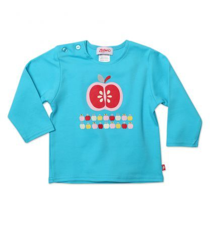 Apples Baby Long Sleeve Screen Tee
