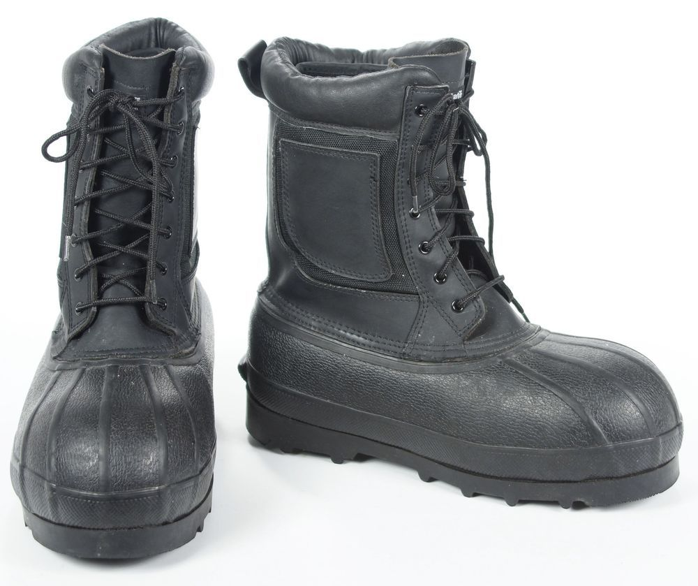 ecce07a14375 La Crosse Iceberg II Black Waterproof Winter Work Safety Toe Pac Boots Mens  8  LaCrosse  WorkSafetyWinter