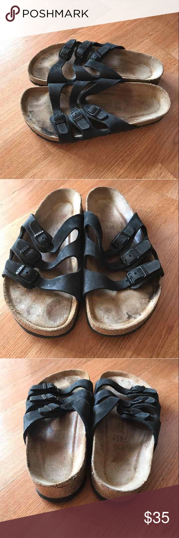 Birkenstock sandals wo's size 7 Used but in good condition Birkenstock Shoes Sandals