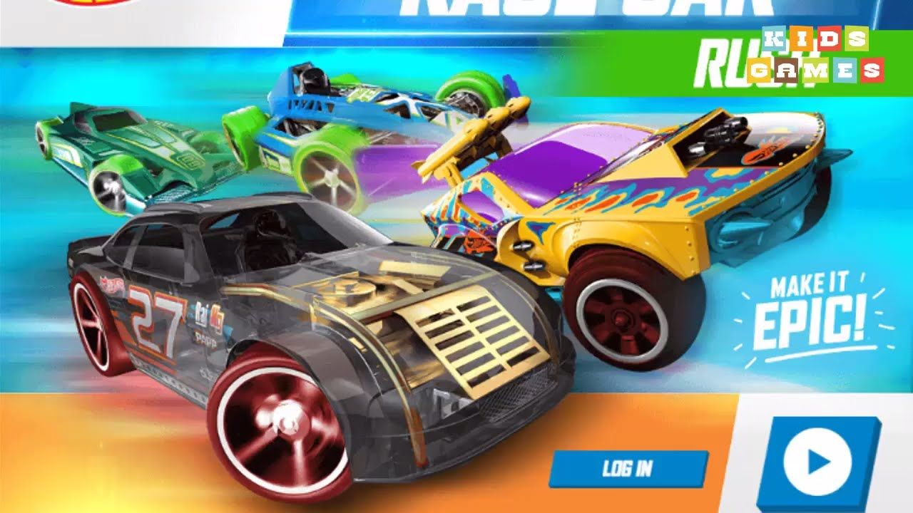 car games 2017 race cars kids games