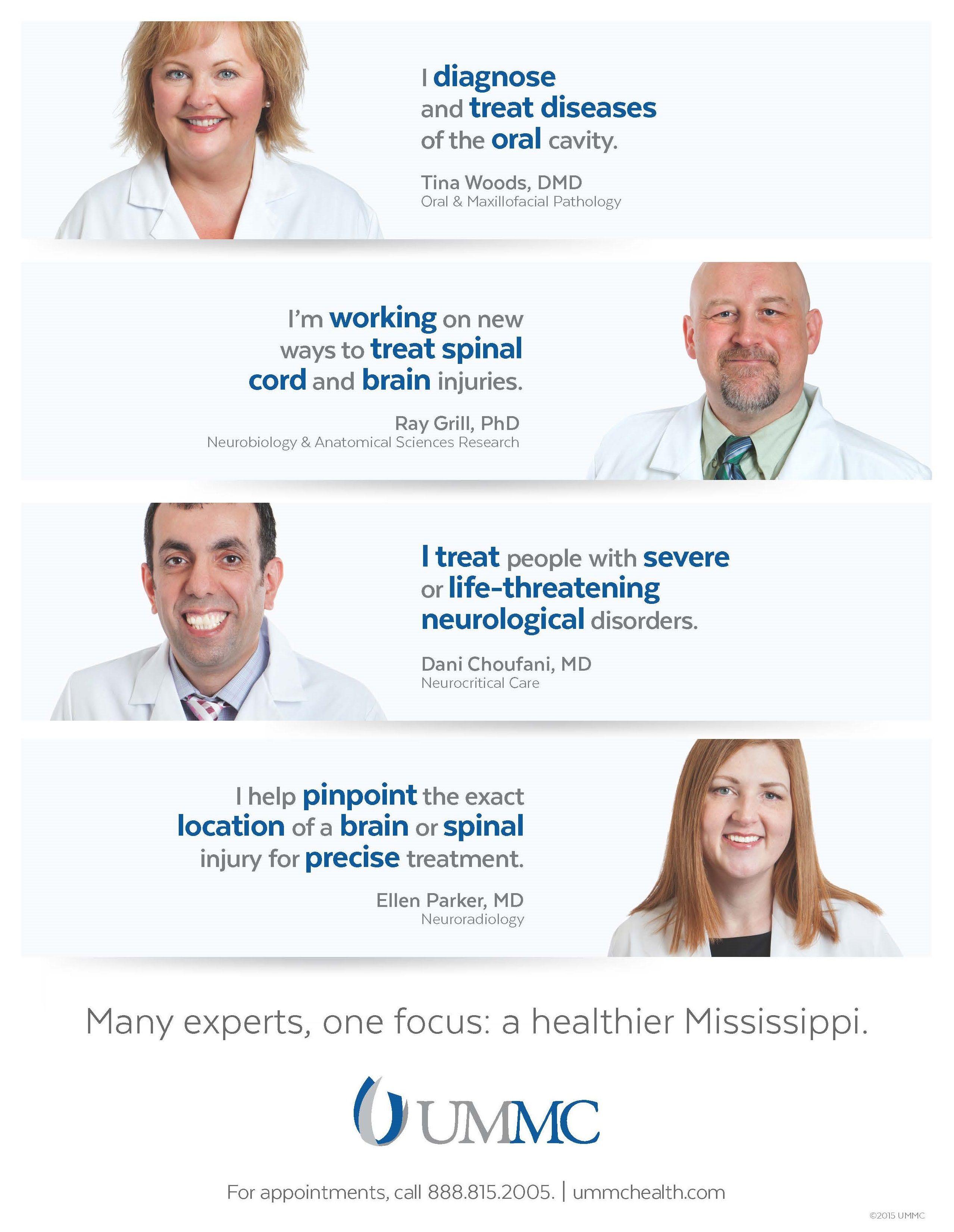 UMMC Announcement Ad Adult New Physicians Print Ad Nov