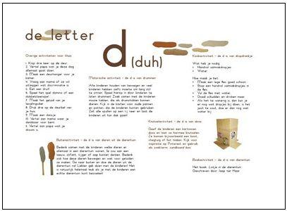 Letters leren is leuk en het wordt door de activiteiten ...