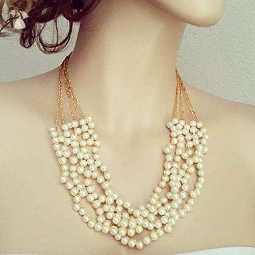 vintage brooch necklace bridal Pearl necklace Pearl Necklace SALLY Bridal Necklace Wedding Necklace bridal jewelry wedding necklace