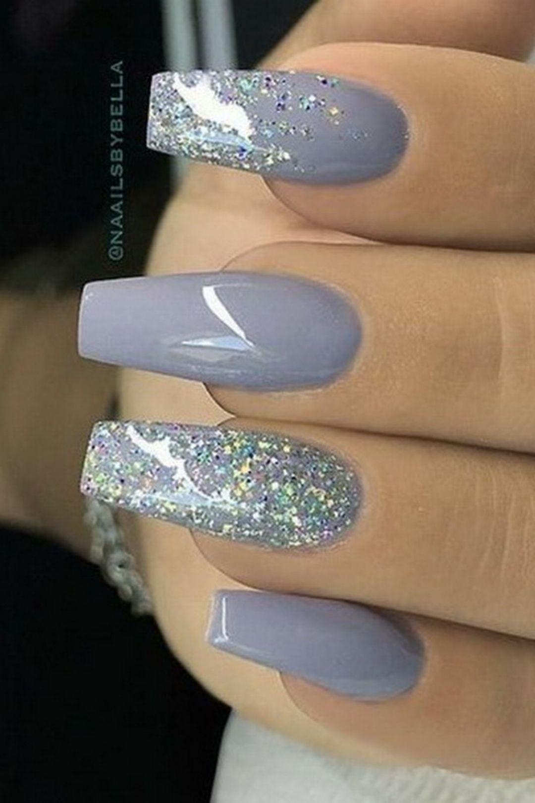 Grey Nails nailart nails nailpolish naildesigns