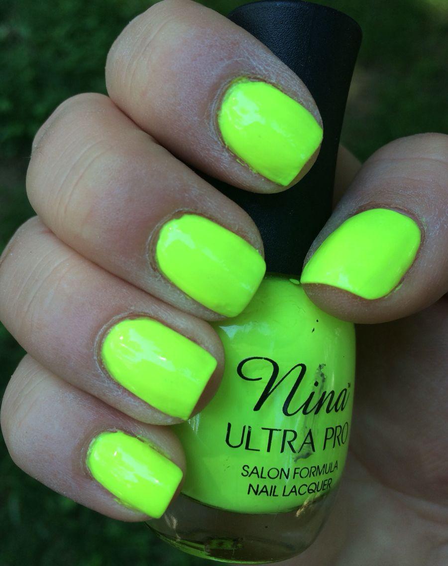 31. Nina Ultra Pro: Solar Flare #Nails #NailPorn #NailPolish ...