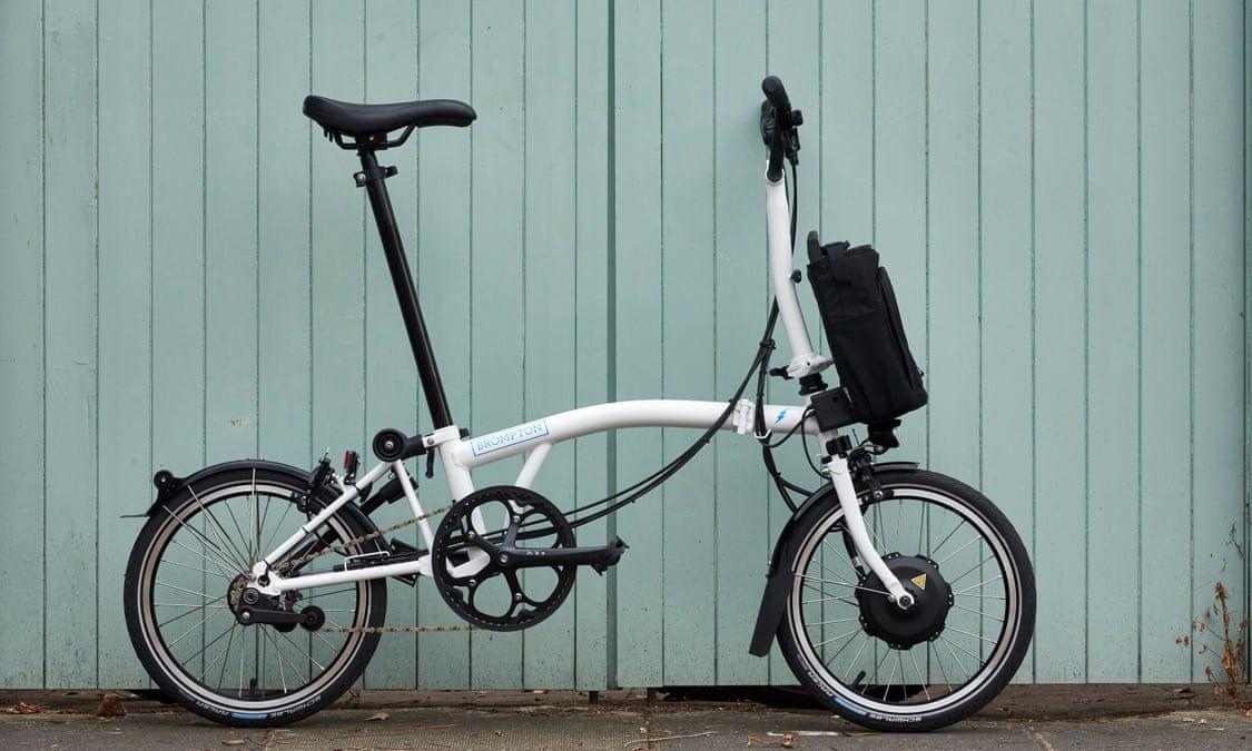 Brompton Electric Folding Bike This Is All About Easy City Living Folding Electric Bike Brompton Folding Bike