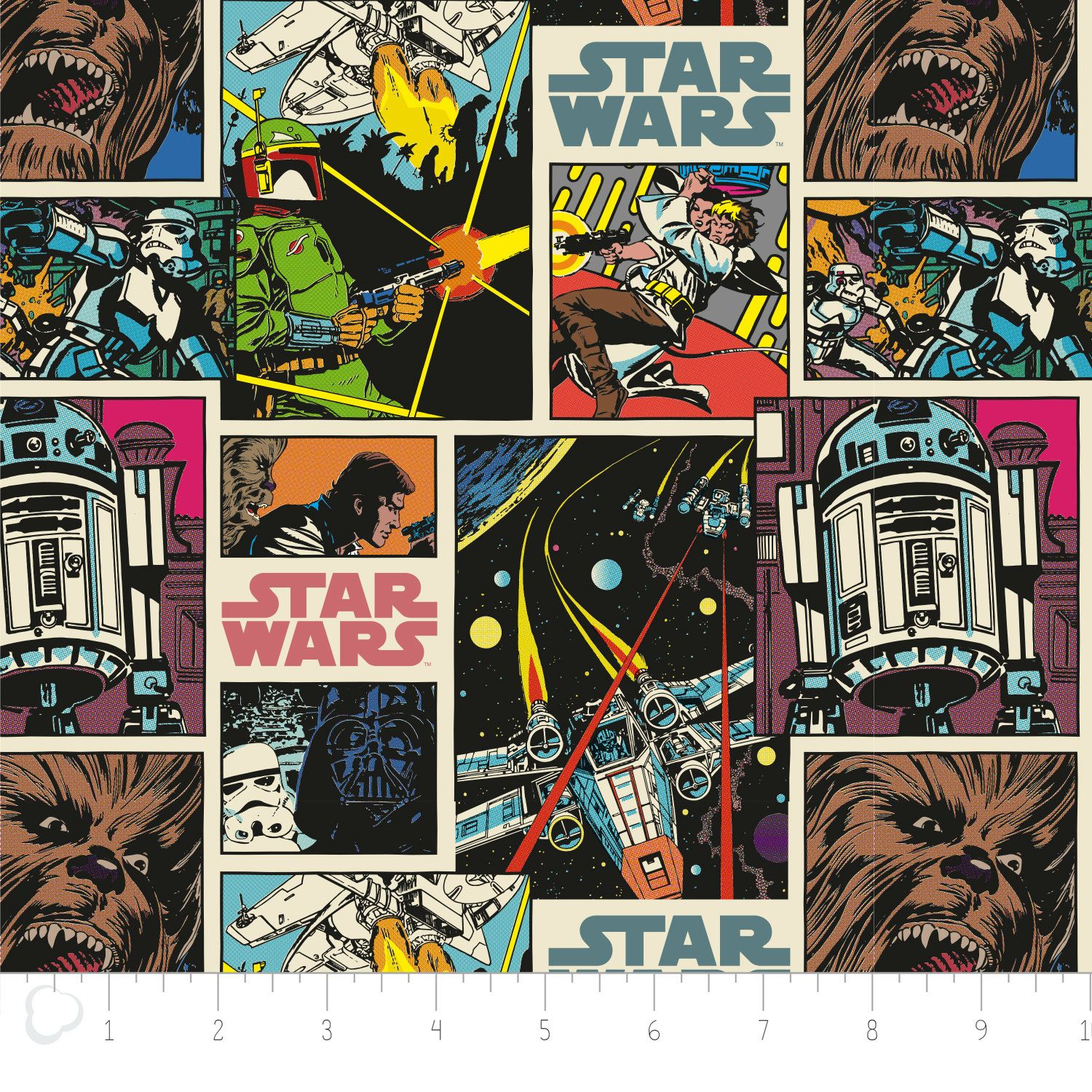 Star wars wallpaper strip