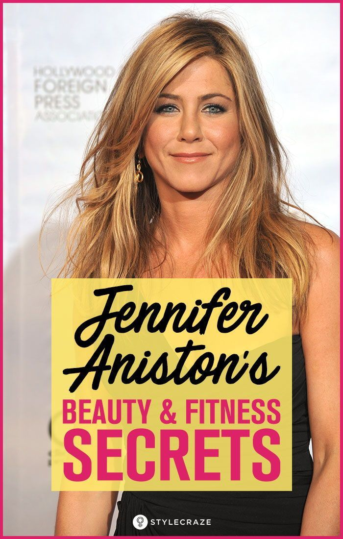Jennifer Aniston's Beauty And Fitness Secrets #Beauty #fitness #secrets #beautytips #NighttimeBeauty...