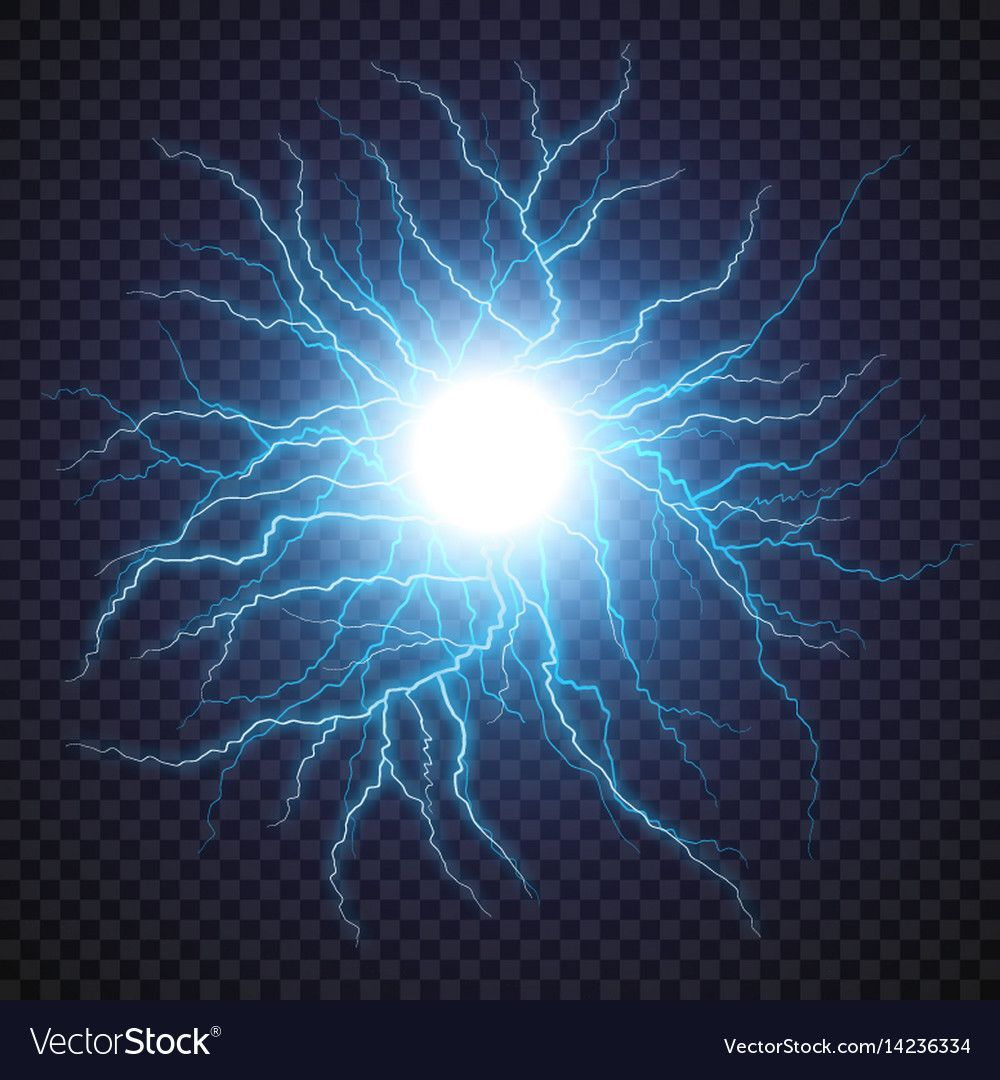 Lightning Flash Light Thunder Spark On Transparent Background Vector Ball Lightning Or El Photoshop Digital Background Light Background Images Lightning Flash